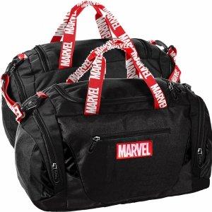 Marvel Czarna Torba Sportowa Podróżna na Siłownię Fitness [AMAR-019]