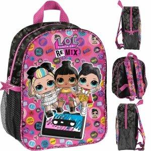 Plecak 3D LOL Surprise do Przedszkola z Laleczkami [LOC-503]