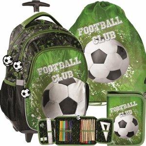 Plecak na Kółkach Piłka Nożna dla Chłopaków Paso [PP20FO-997]