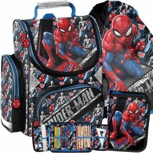 Spiderman Tornister dla Chłopaka Szkolny Nowoczesny Paso [SPW-525]