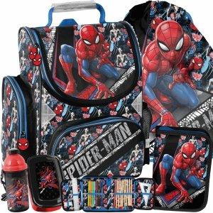 Tornister do 1 Klasy Spiderman Szkolny Paso dla Chłopaka [SPW-525]