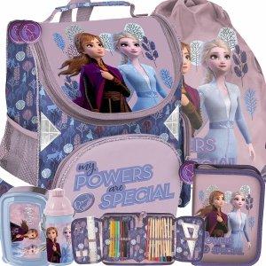 Tornister Frozen Kraina Lodu dla Dziewczynki Uczennicy Szkolny Paso [DOG-523]