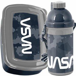 Śniadaniówka Bidon NASA Kosmos dla Chłopaka Zestaw [PP21NA-3021]