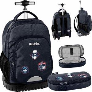 Plecak na Kółkach Ufo Kosmici Duży dla Chłopaków Szkolny [PPUF20-1231]