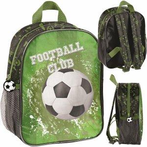 Plecak 3D z Piłką Chłopięcy do Przedszkola Wycieczkowy Plecaczek Football [PP20FO-503]