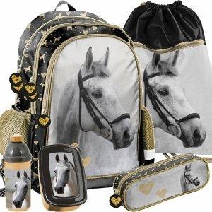 Plecak do Szkoły Złoty Koń dla Dziewczynki do 1 Klasy [PP20H-081]