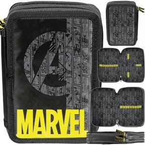 Avengers Piórnik Marvel Szkolny 2 komorowy dla Chłopaków Thor [ANA-P022BW]