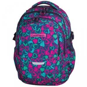 Plecak CP Młodzieżowy CoolPack Serduszka Scrtached Hearts 71789CP