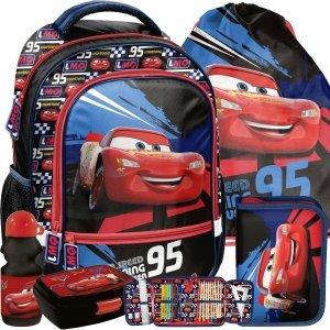 Plecak dla Chłopaka Zygzak Auta Cars do 1 klasy Auto [DSD-260]