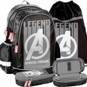 Marvel Avengers Plecak Szkolny dla Chłopaków Zestaw 3w1 [AMAL-081]
