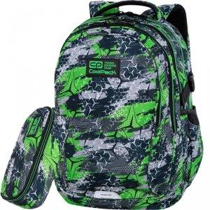 CP CoolPack Plecak dla Uczniów Szkolny TRIOGREEN Factor 29L [C02171]