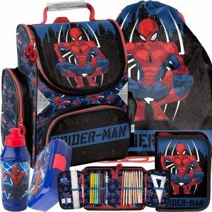 Tornister SpiderMan do Szkoły Podstawowej do 1 Klasy Paso Komplet [SPY-525]