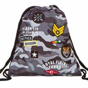 Kamuflaż Moro Duży Worek na Obuwie Coolpack Cp Wojskowy [A73111]