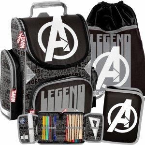 Avengers Szkolny Tornister Paso do klas 1-3 Paso [AMAL-525]