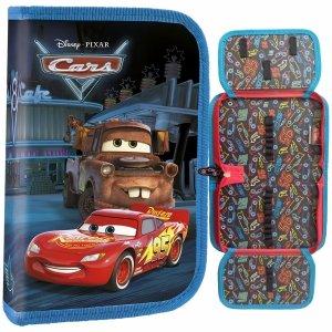 Piórnik Auta Cars dla Chłopaka Rozkładany Zygzak [PJCA45]