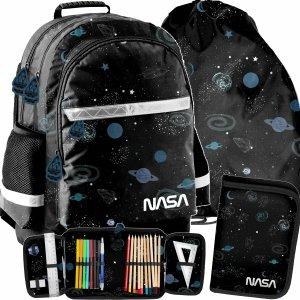 Plecak Szkolny Nasa dla Uczniów Kosmos Komplet 3w1 [PP21NS-116]