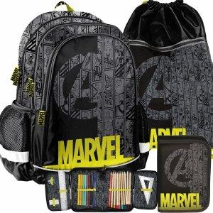 Modny Plecak Chłopięcy Avengers do Szkoły Paso [ANA-081]