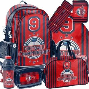 Plecak dla Chłopaka Szkolny Football Piłkarski Big Zestaw [PP21FO-081]