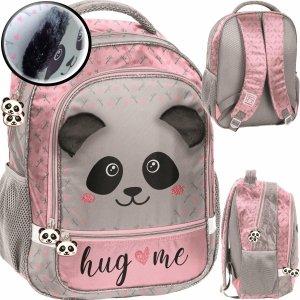 Panda Plecak do 1 Klasy Szkolny dla Dziewczynki z Misiem [PP20PA-260]