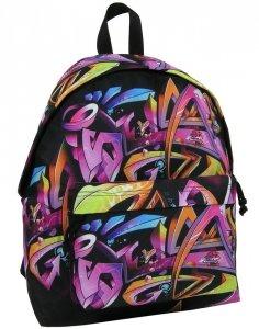 Plecak Vintage Młodzieżowy Szkolny dla Dziewczynki [16J 13]