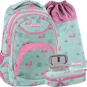 Plecak Młodzieżowy dla Dziewczyny Miętowy BeUniq [PPLF19-2708]