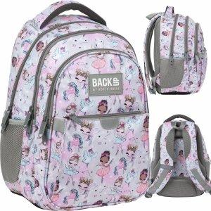 Szkolny Plecak Baletnica Backup dla Dziewczyny Wróżki Derform [PLB3P21]