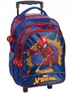 Plecak na Kółkach Spiderman Szkolny dla Chłopca [SPU-300]