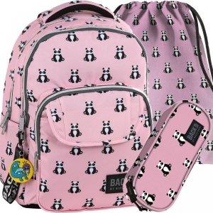 Plecak Miś Panda Młodzieżowy BackUP Szkolny [PLB2L53]