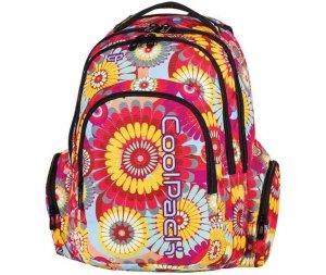 Plecak Młodzieżowy CP CoolPack Szkolny w Duże Kwiaty 62350CP