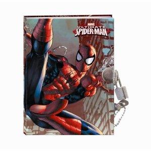 Pamiętnik Spider Man dla Chłopaka Twarda Okładka [604864]