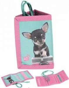Portfel Chihuahua dla Dziewczynki Portfelik Pies dla Dziewczynki [PTE-002]