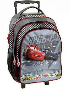 Plecak na Kółkach Zygzak Auta Cars Szkolny dla Chłopca [DSA-300]
