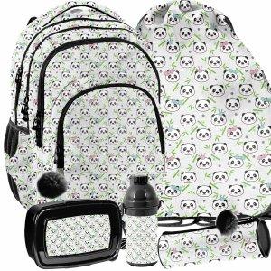 Szkolny Plecak dla Dziewczynek w Misie Panda Paso [PP21PN-2706]