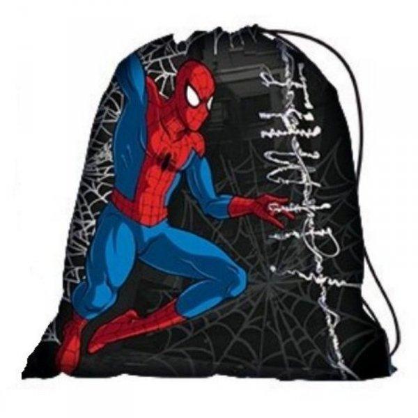 worek spiderman ze spidermanem na kapcie w-f wf gimnastyczny gimnastykę