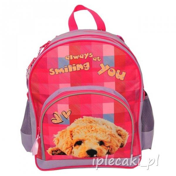 Plecak Szkolny z Pieskiem Psem dla uczennicy 13-157C