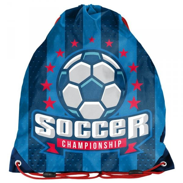 Worek na Buty Obuwie Piłka Nożna dla Chłopaka Niebieski 17-712P