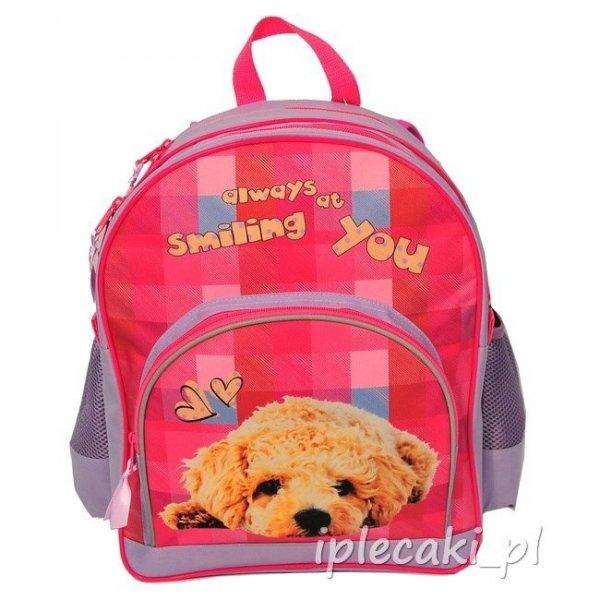 Zestaw Szkolny 3w1: plecak + piórnik z wyposażeniem + worek na obuwie z Pieskiem
