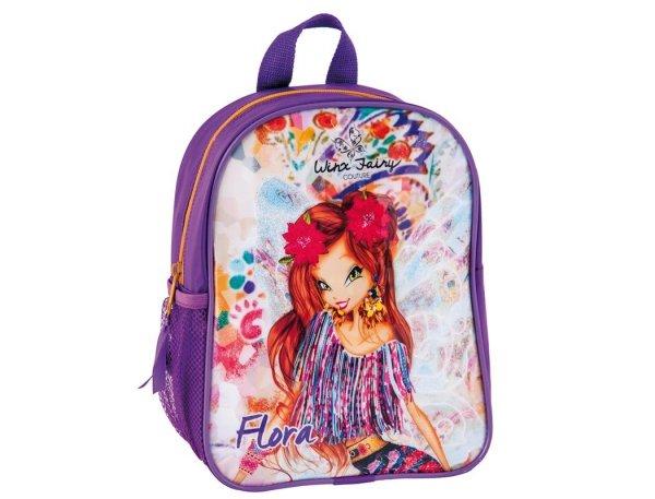 plecak przedszkolny winx fairy  couture dla dziewczynki fioletowy do przedszkola