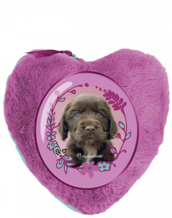Saszetka Pluszowa z Pieskiem Pies Kosmetyczka dla Dziewczynki [RHX-059]
