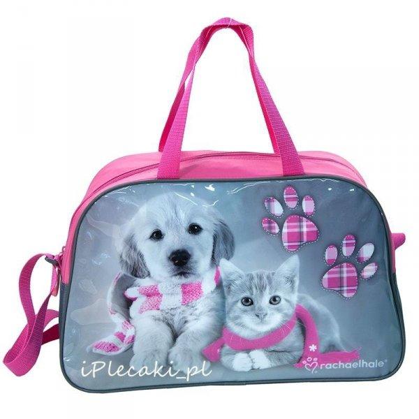 torba dziecięca kot pies dla dziewczynki
