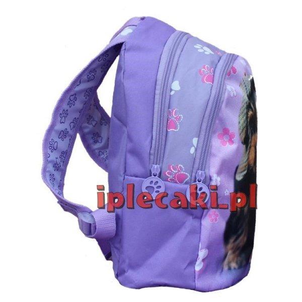 plecaczek mały plecak do przedszkola z psem pieskiem 605498