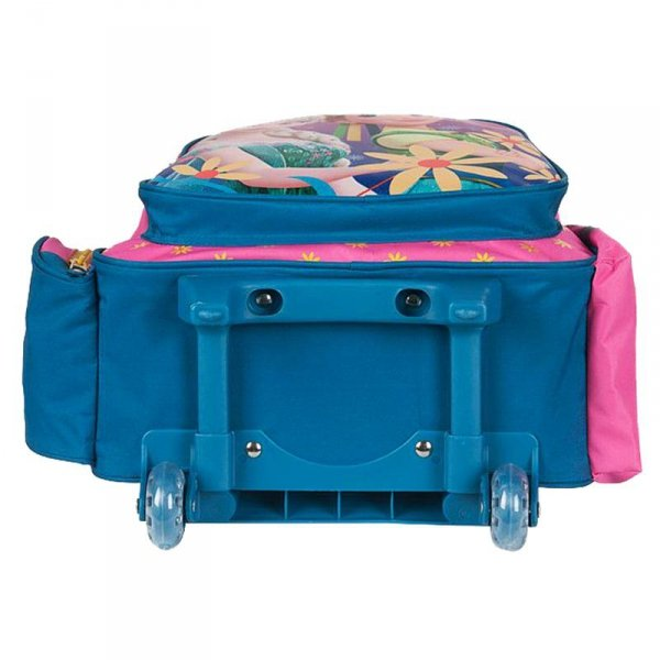 plecak dla dziewczynki na kółkach frozen kraina lodu