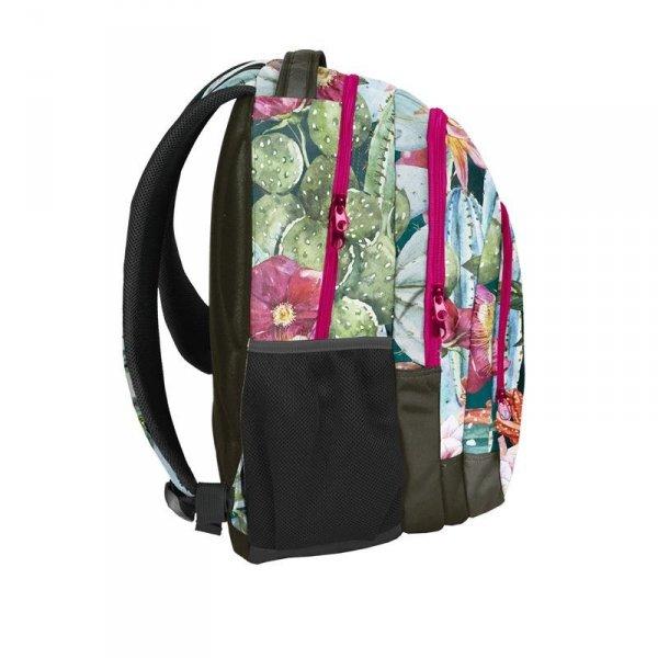 Plecak Młodzieżowy Szkolny Kwiaty (18-2706LO)