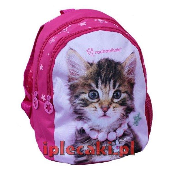 plecaczek przedszkolny z kotkiem