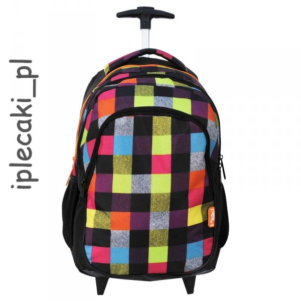 Plecak na kółkach Szkolny Paso Młodzieżowy Miejski 85-997B