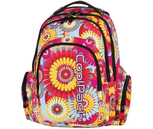 plecak szkolny młodzieżowy CP coolpack 62350 573 kwiaty
