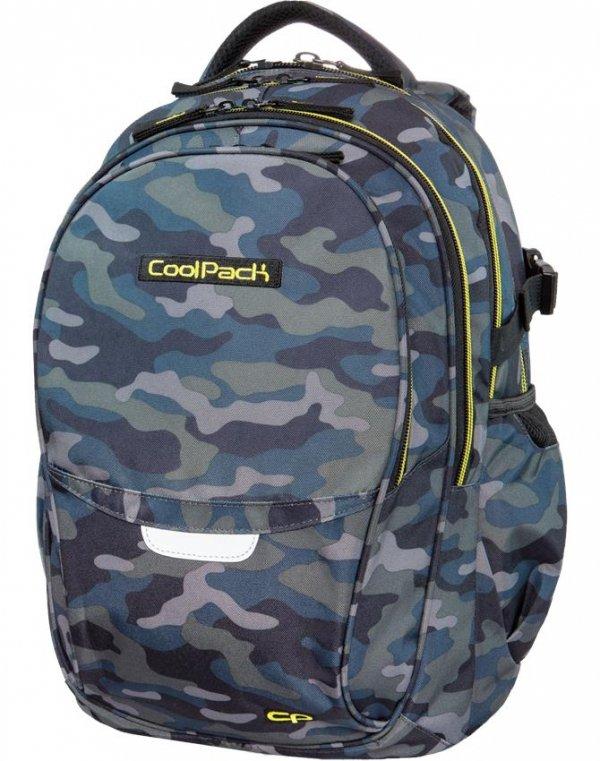 Plecak CoolPack CP MILITARY Młodzieżowy Szkolny dla Chłopaka [B02008]