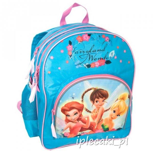 plecaki dla dziewczyn dzwoneczek wróżki wróżka