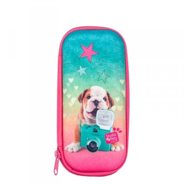 Piórnik Etui Szkolny Pies dla Dziewczyny do Szkoły