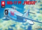 Plastyk S011 1/72 Mig-17 PF ''''''Fresco''''''